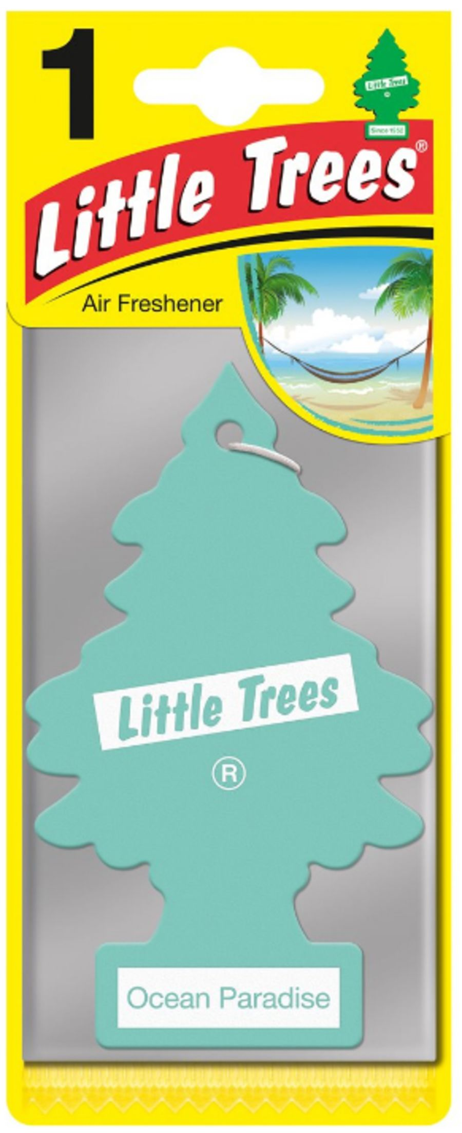 Ocean Paradise Little Tree Air Freshener