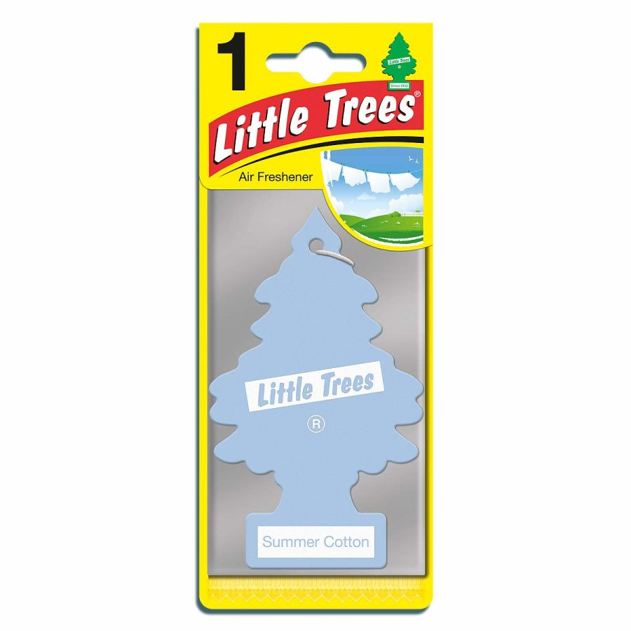 Summer Cotton Little Tree Air Freshener
