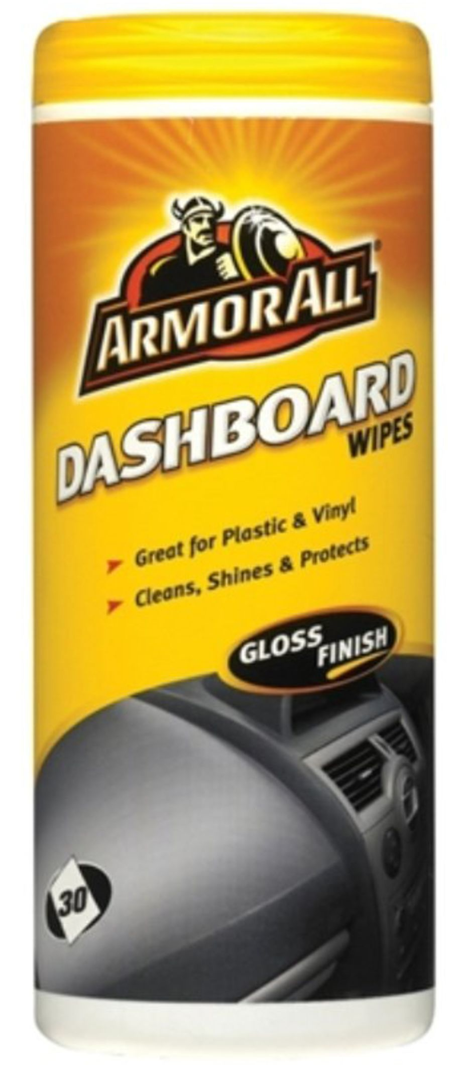 Dashboard Wipes - Gloss Finish - Tub Of 30