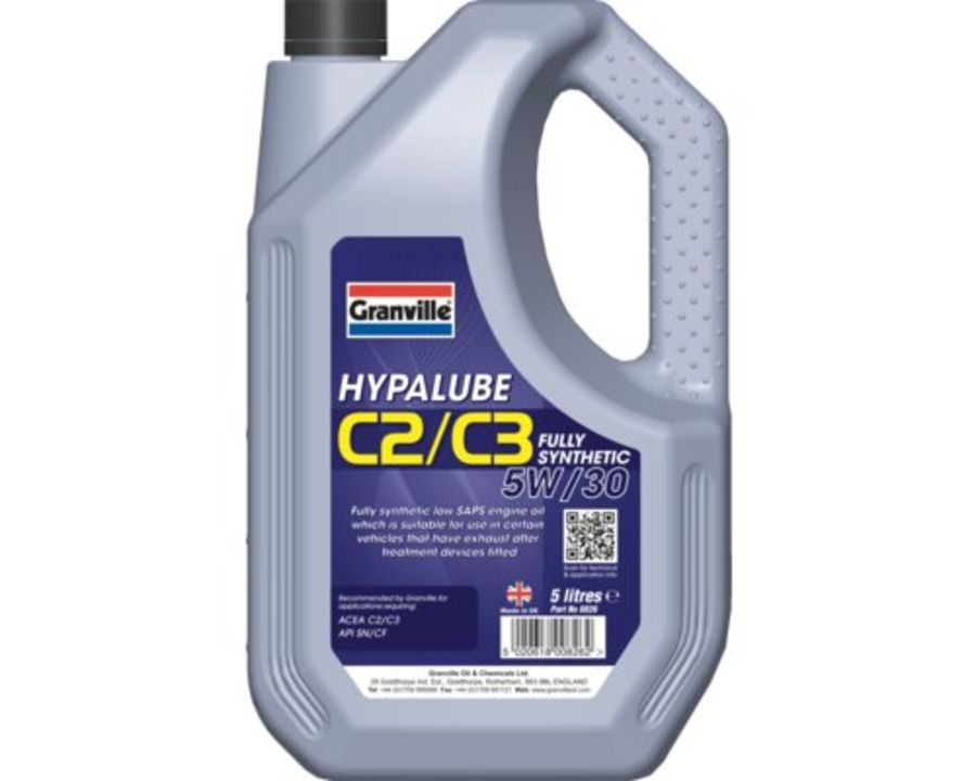 Granville Hypalube C2/C3 5W/30 Fully Synthetic, 5 Litres