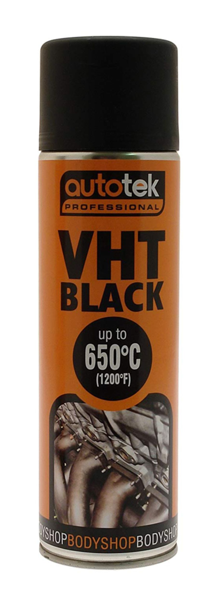 Black Very High Temperature - VHT Paint - 500ml