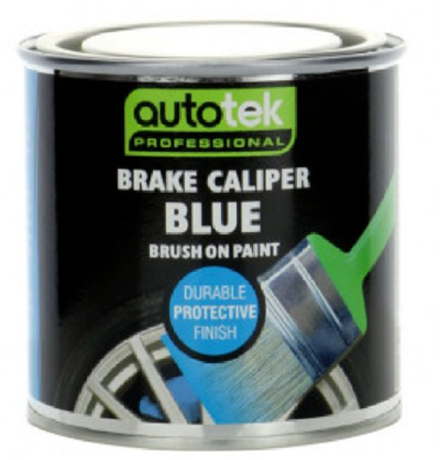 Blue Brush On Paint - Caliper Paint - Gloss Finish