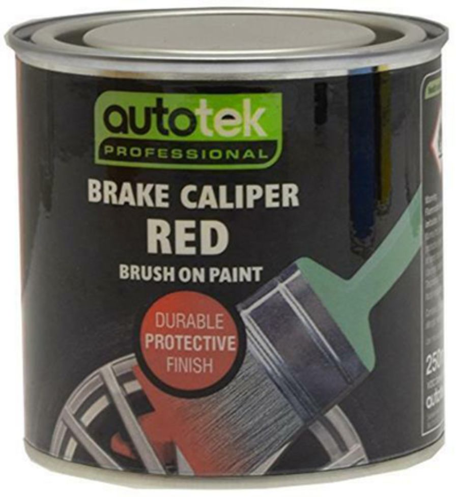 Red Brush On Paint - Caliper Paint - Gloss Finish