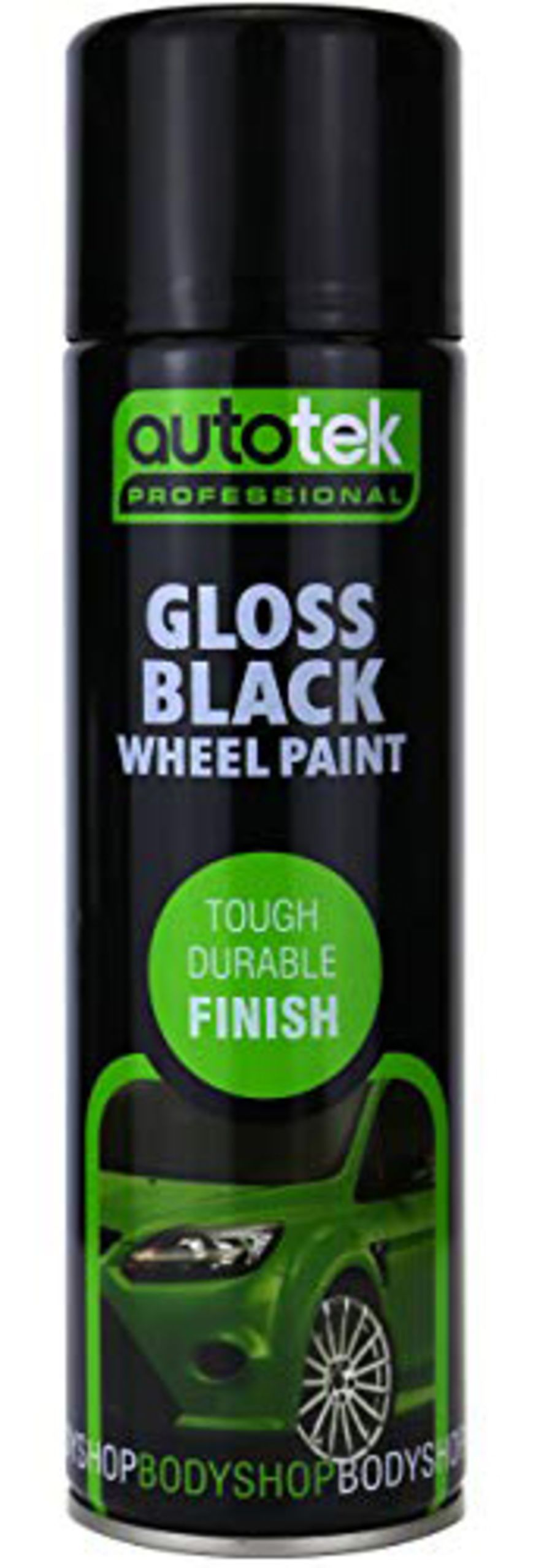 Gloss Black Wheel Paint - 500ml