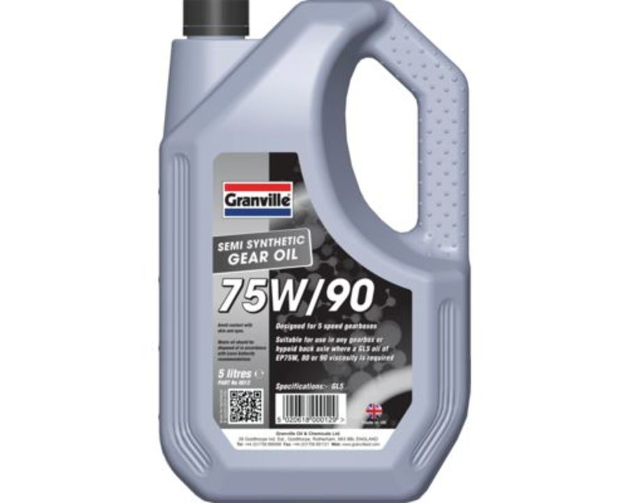 EP 75W-90 Gear Oil - 5 Litres