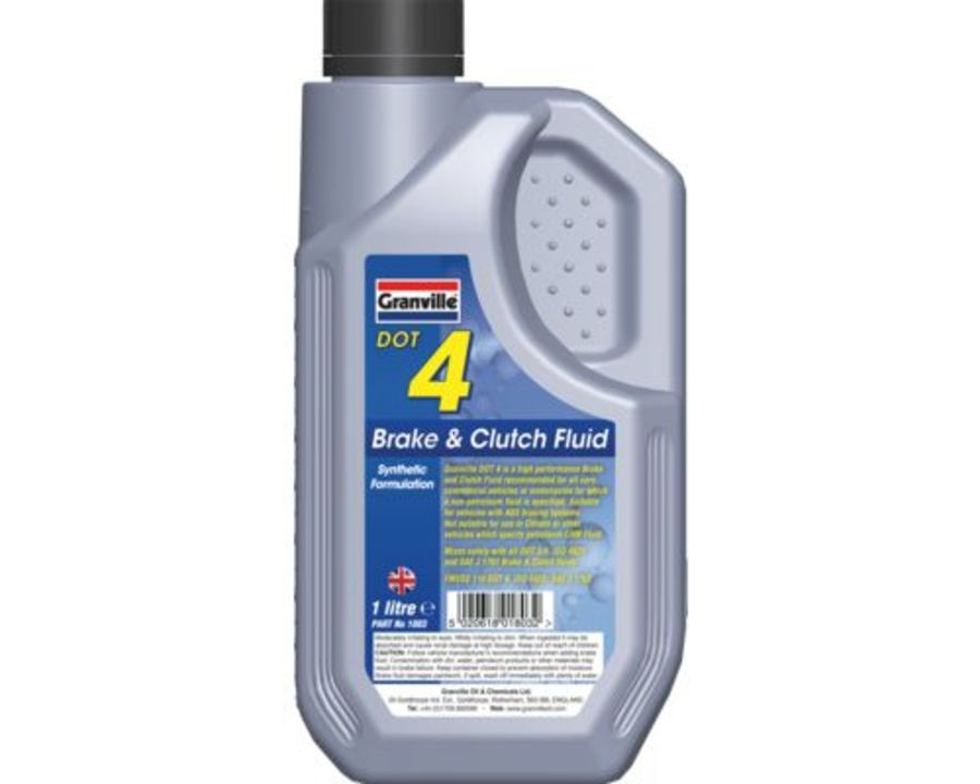 Brake & Clutch Fluid Dot 4 - 1 Litre