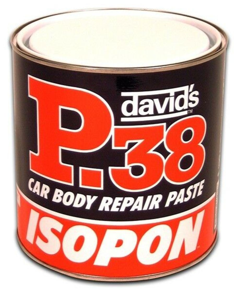 P38 Body Filler - 2.25 Litre