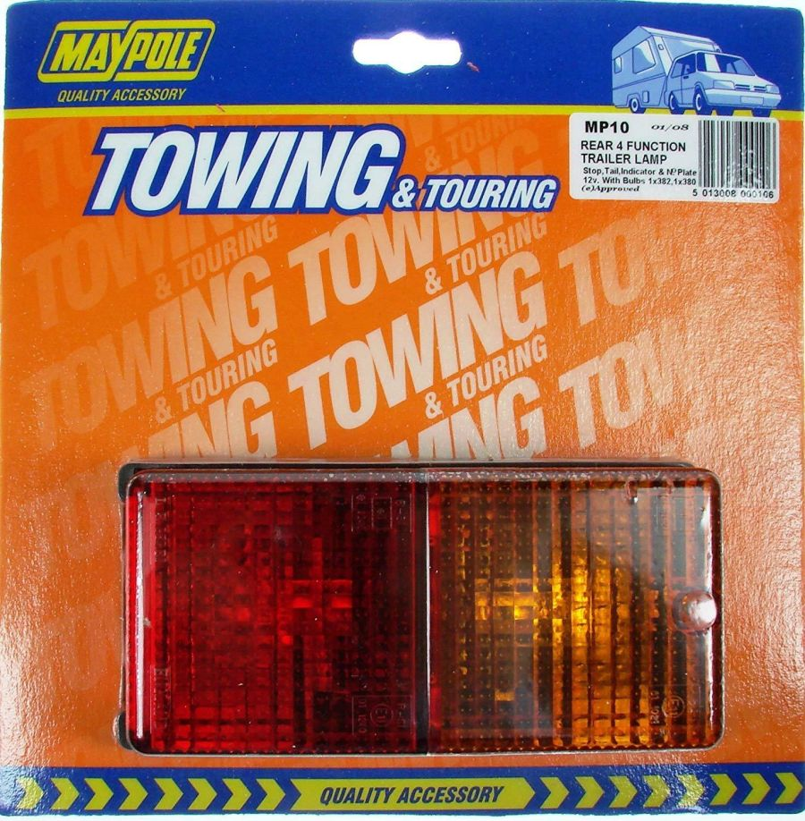 Rear Combination Lamp Rectangular - Trailer Lamp