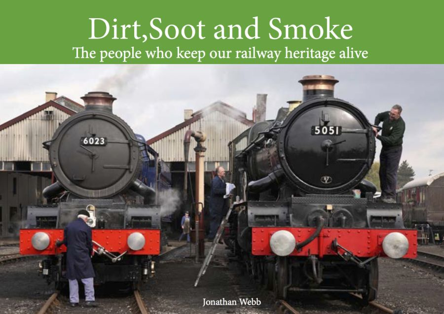 Dirt, Soot and Smoke is a 300 page, all colour, A4 size, hard back book looking at the people who keep our railway heritage alive.