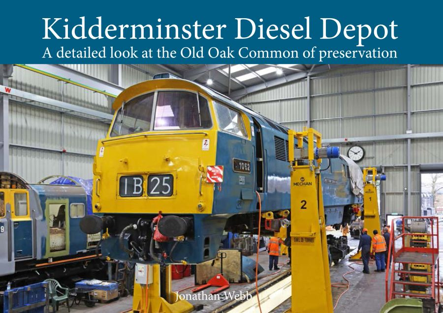 Kidderminster Diesel Depot,the Old Oak Common of preservation. A 300 page, A4, heavy card back book, with approximately 300 colour pictures on high quality art paper. It looks at the wide range of work carried out and the volunteers who do it.