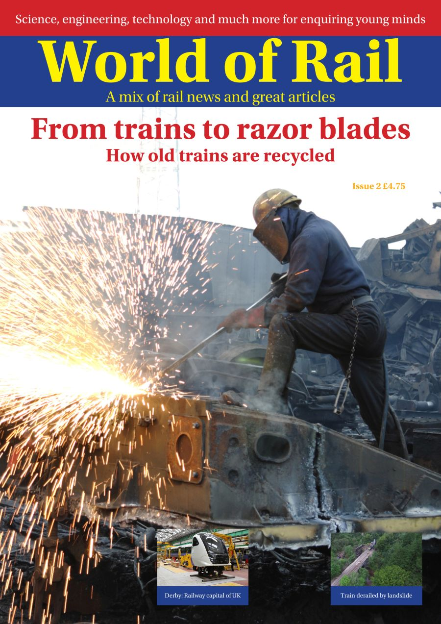 FREE UK delivery. World of Rail Magazine,12 month subscription saving 5% on recommended retail price, with school subscription discounts available.