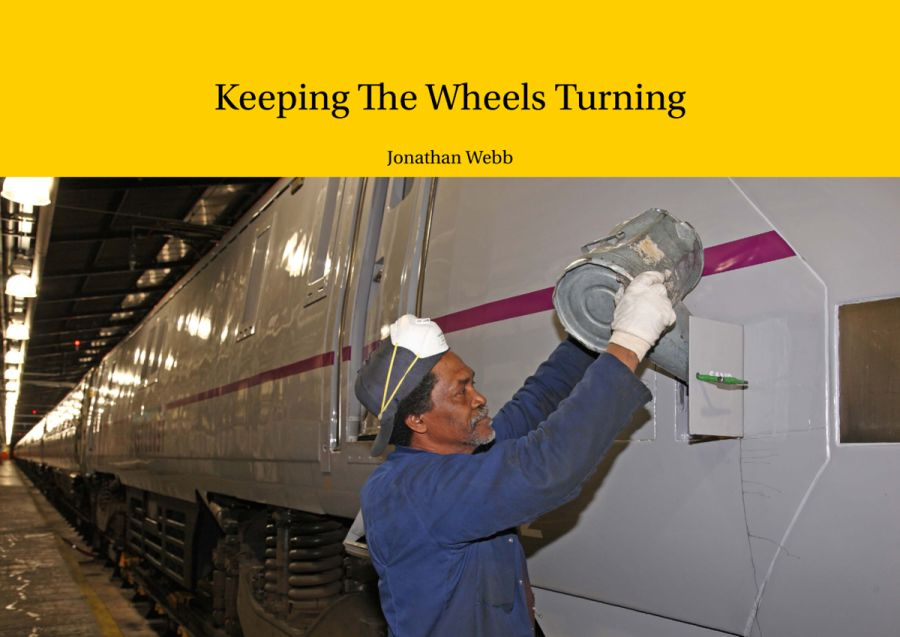 Keeping The Wheels Turning takes a candid look at rail staff at work. So much more than a picture book, although it contains around 400 pictures, it also details the careers and anecdotes of many of the staff featured.