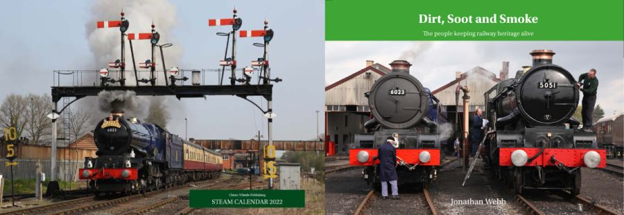Dirt, Soot and Smoke book and 2022 steam calendar combination deal.