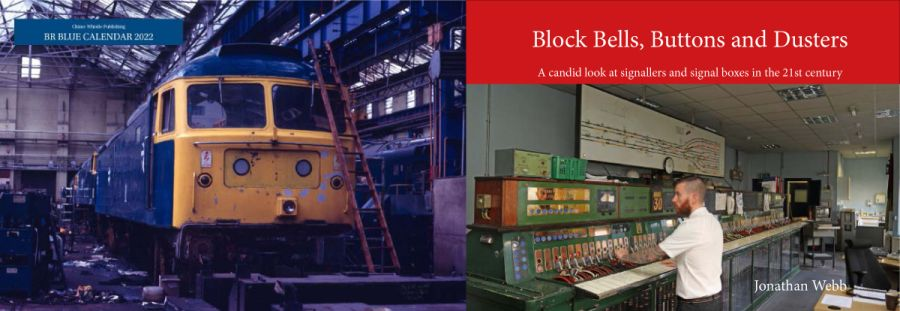 Block Bells, Buttons and Dusters book and 2022 BR blue calendar combination deal.