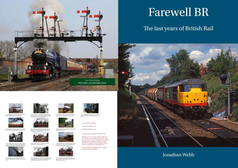 Farewell BR book and 2022 steam calendar combination deal.