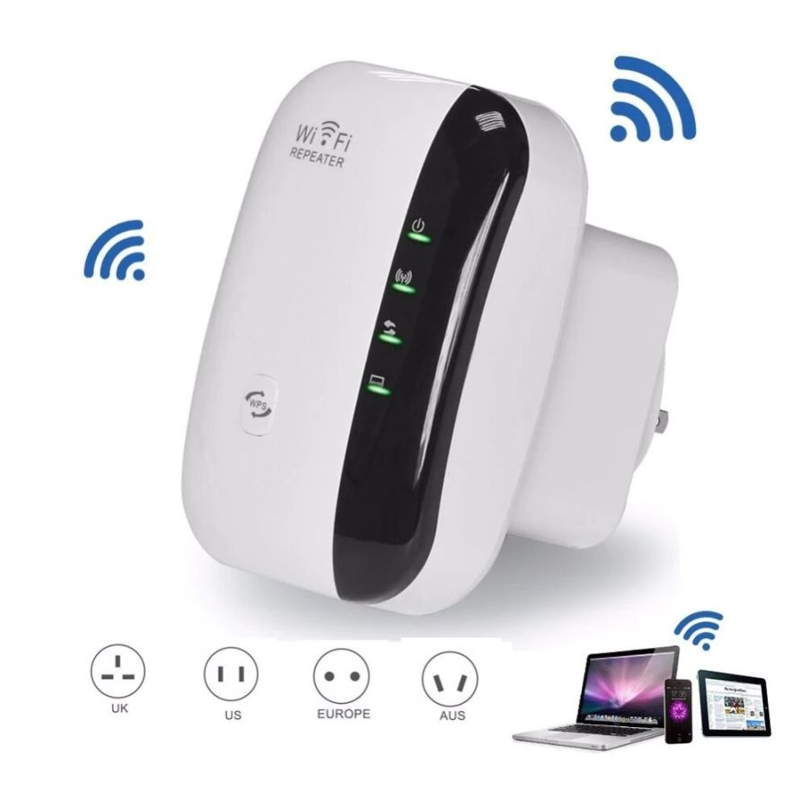 wireless adapter 300Mbps Wireless WiFi Repeater/Extender/AP/Mini 2.4G Portable Wifi Signal Range Extender with WPS