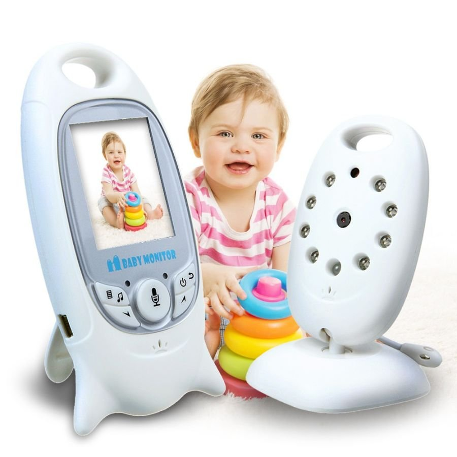 VB601 Wireless Digital Video Baby Monitor Night Vision Two Way Audio