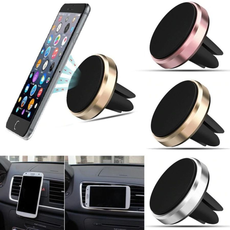 360° Universal Car Magnetic Vent Holder Mount For GPS PDA Mobile Phone