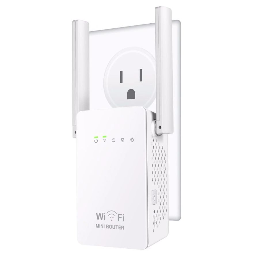 Wifi Extender Repeater 300Mbps Dual-Band Wireless Router Range Signal Booster