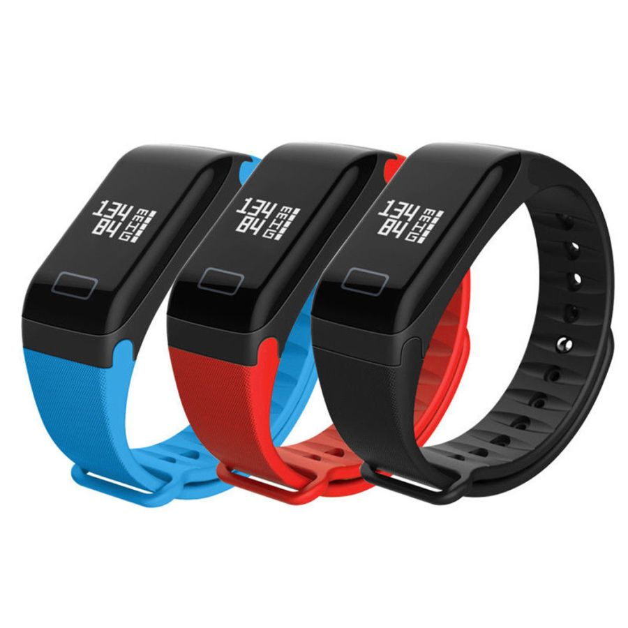 F1 Smart Watch Band Bracelet Fitness Blood Pressure Oxygen Heart Rate Monitor
