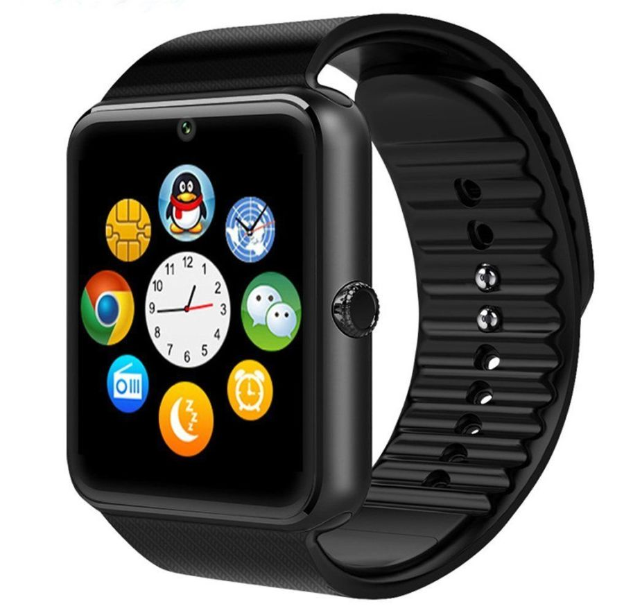 GT08 Bluetooth Smart Watch For Android iOS iPhone Apple GSM GPRS SIM