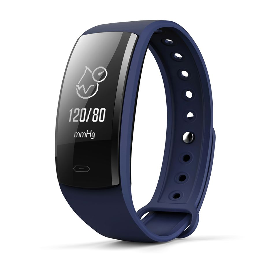 New QS90 Smart Bracelet Watch Blood Pressure Heart Rate Fitness Activity Tracker