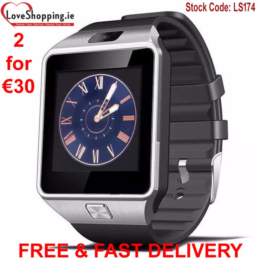 Smart Watch Dz09 Bluetooth Camera Phone Sim Slot for Android Ios Samsung Iphone
