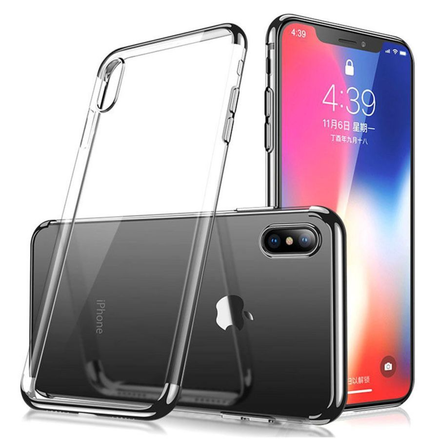Thin Transparent Slim Silicone Soft Clear TPU Case Cover for I phone 8, X10, Samsung S8, Note 8