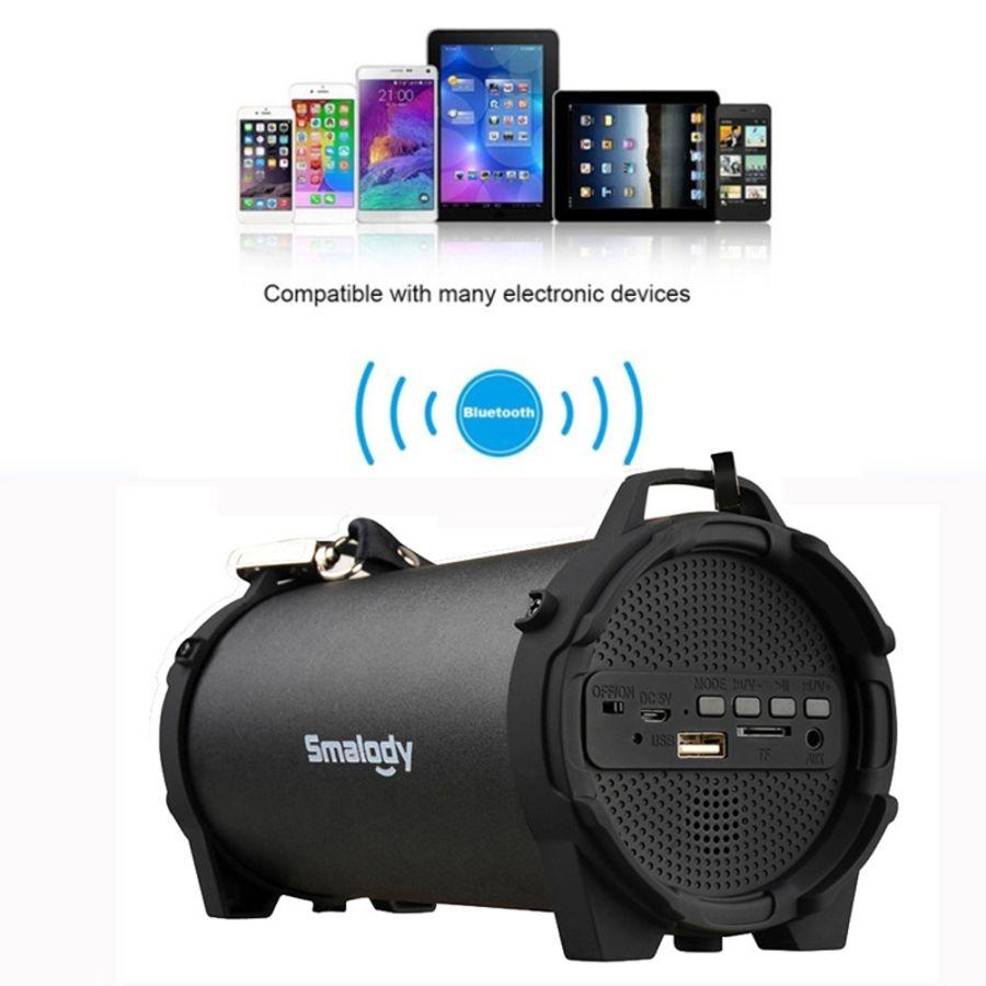 Portable Bluetooth Speaker Column Soundbar Subwoofer Loudspeaker FM Radio System Music sound box