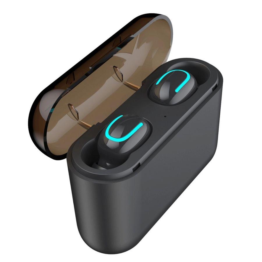 True Wireless Earphones Bluetooth 5.0 Headset 2600mah battery With Mic Earbud Cordless Earphone