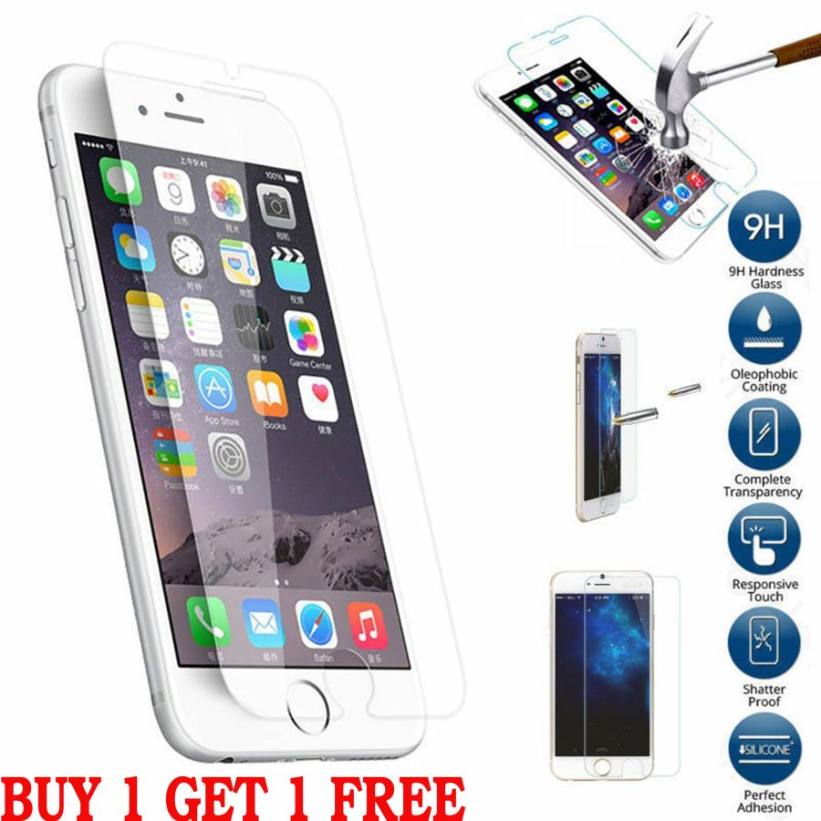 Iphone 8 and 8 plus Tempered Glass Screen Protector Protection Best Phone Lcd Gorilla Guard