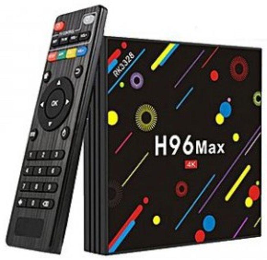 Android 9.0 TV Box H96 Max Rockchip RK3318 4K Smart TV Box 2.4G&5G Wifi BT4.0 H96Max 2GB 16GB Media