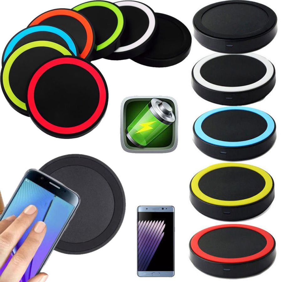 Qi Wireless Charger Charging Pad Mat For Samsung Galaxy iPhone