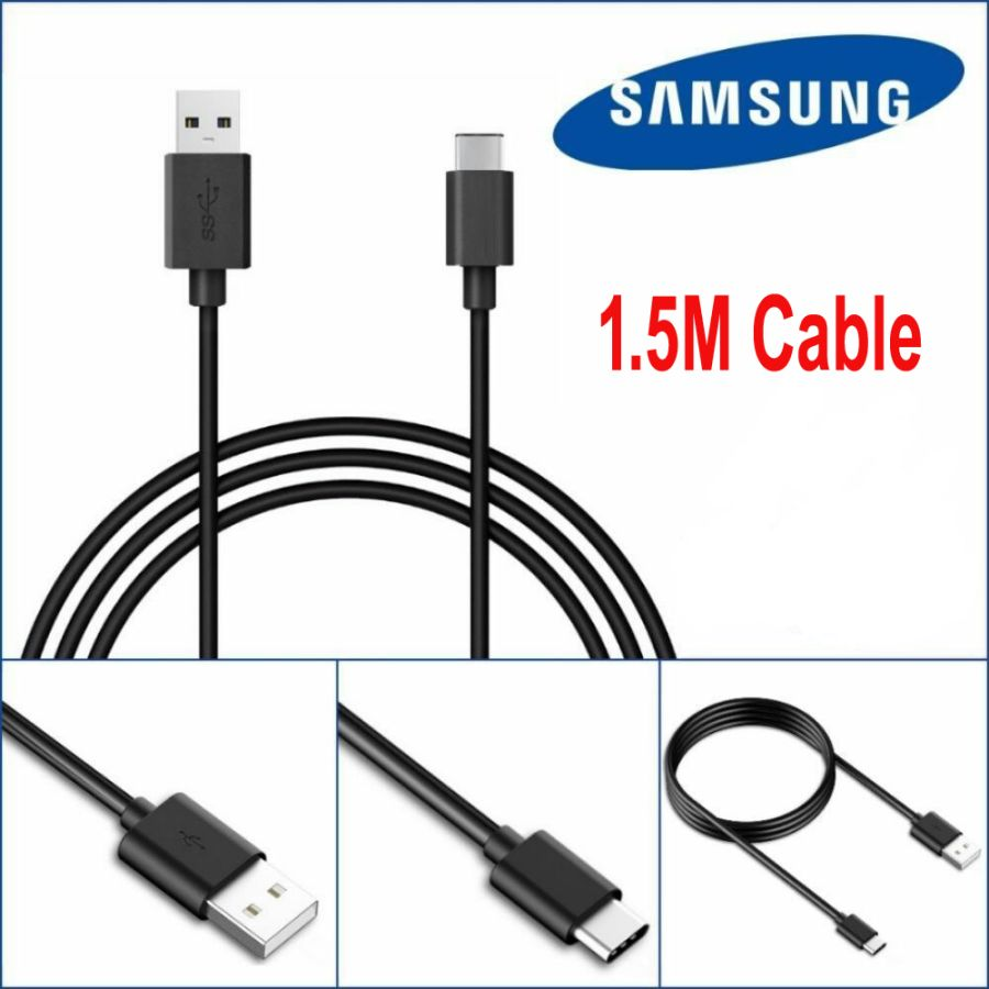 Original Samsung Galaxy S8,S8, S9, NOTE 8, 9 +A5(2017)Fast Charge Data USB Lead Cable C-Type