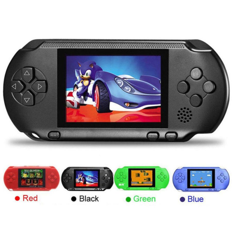 2.7 inch Screen Handheld Video Game Console Portable Game Players 16Bit Classic PXP3 Slim Station 5 Color Pocket Gamepad Console