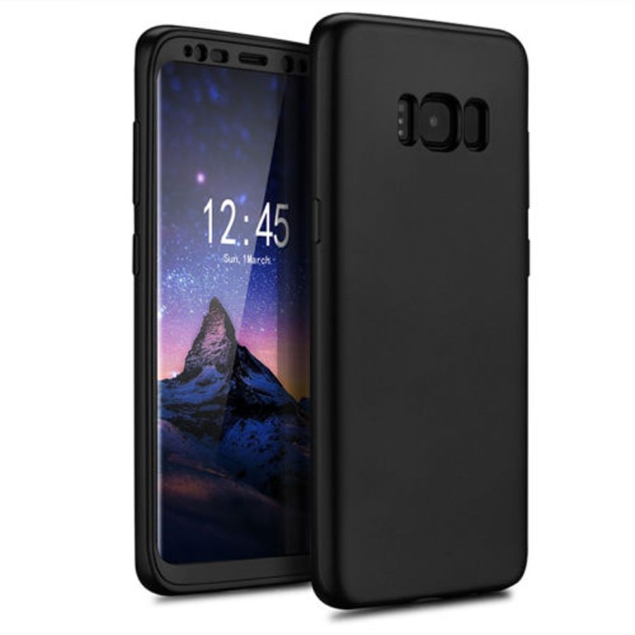 Samsung Galaxy S8 Cover Case Hybrid Luxury + Screen Protector
