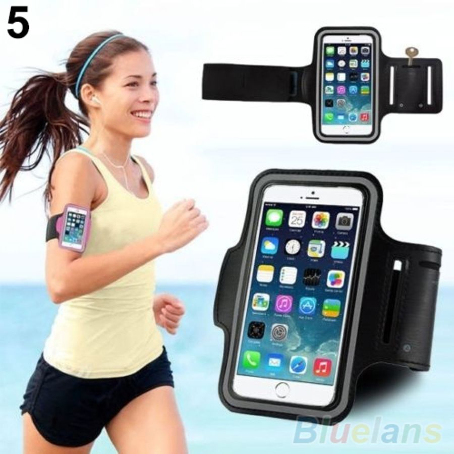 Gym Running Jogging Arm Band Sports Armband Case Holder Strap For All Smart phone