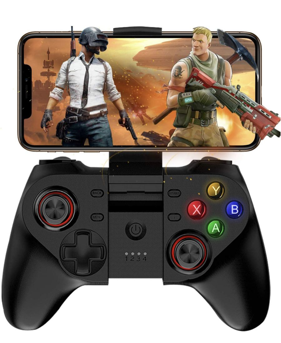 Wireless Gamepad Bluetooth Mobile Game controller for Android Smartphone, Android Tablet PC, Android TV Set