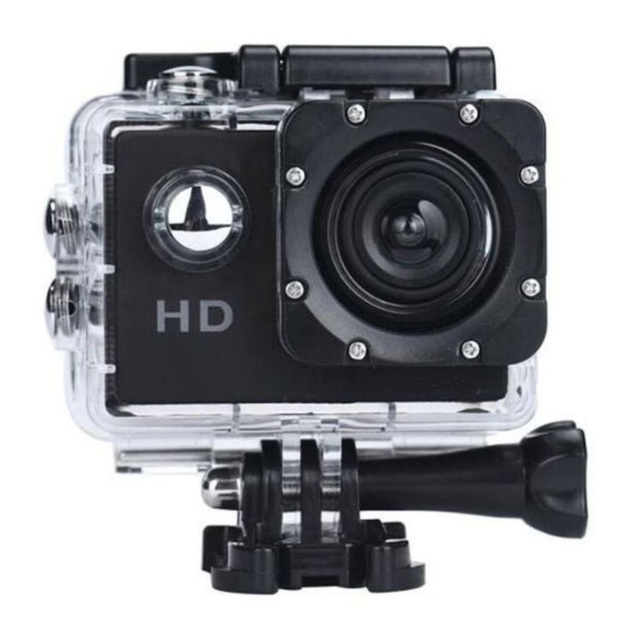 Action Camera Ultra HD Underwater Outdoor Sport Mini Camera Waterproof Cam Screen Color Water Resistant Video Surveillance