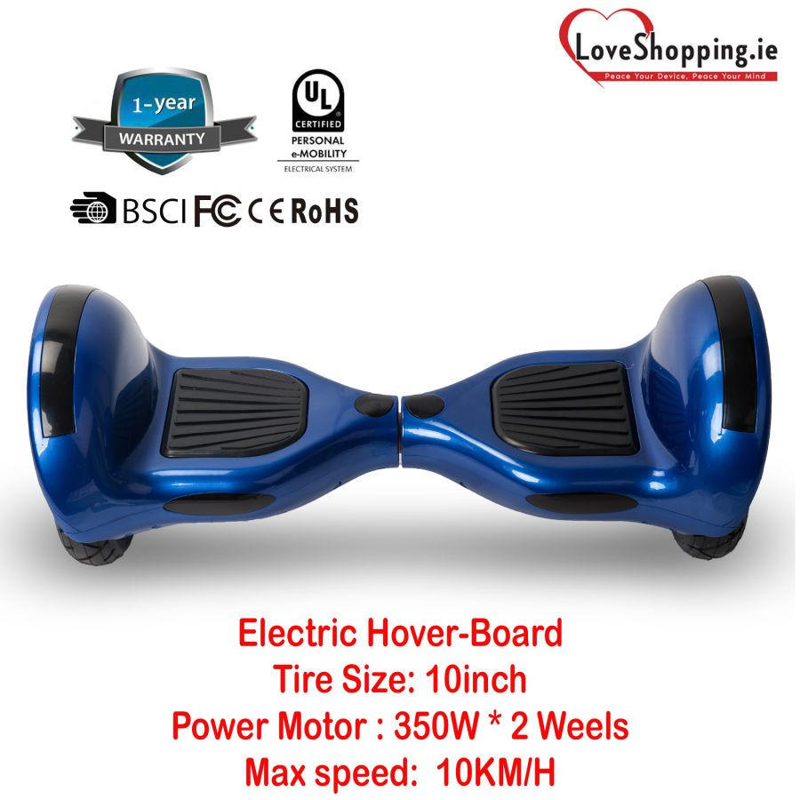 2020 NEW Design 10inch tire electric hover-board with stereo Bluetooth and 350W*  2 power motor