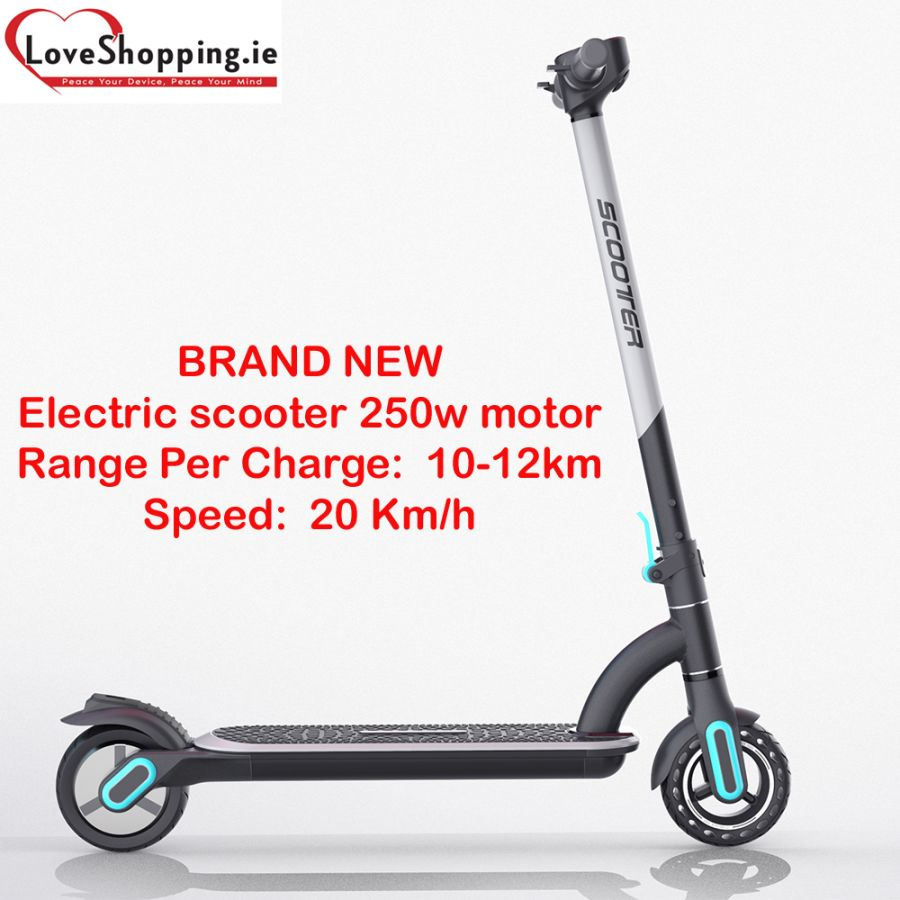 BRAND NEW Foldable rechargeable Electric scooter 250w motor with dual system brake suitable for youth and kids
