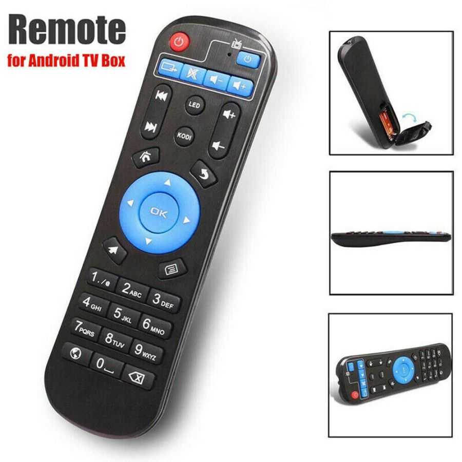Universal Remote Control Replacement Android Smart TV Box IPTV Media Player