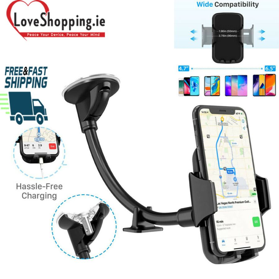 Universal Car Mobile Phone Holder Mount Windscreen Air Vent Stand Cradle
