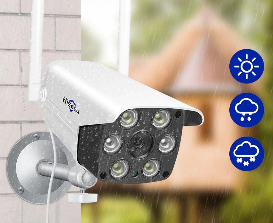HD 1080P Wireless IP Camera CCTV Audio 2.0MP Bullet Security Camera Wifi Night Vision Metal Waterproof Outdoor Camera