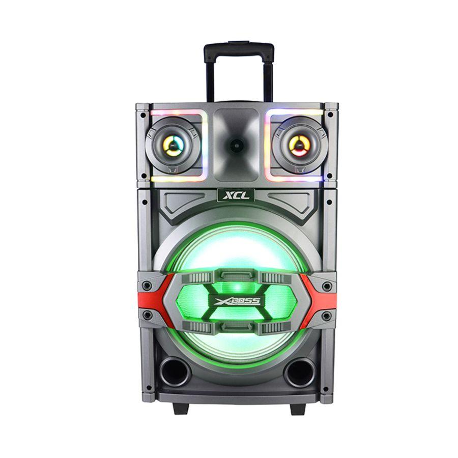 New Portable bluetooth speaker 12'' dj trolley speaker