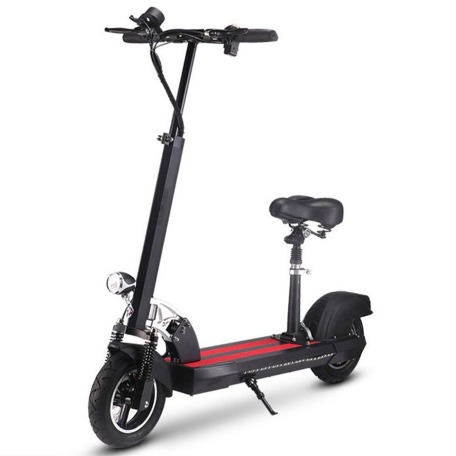 Electric Scooters 48V  Big 10Inch Wheel Electric Bikes 500W Motor Adult Folding