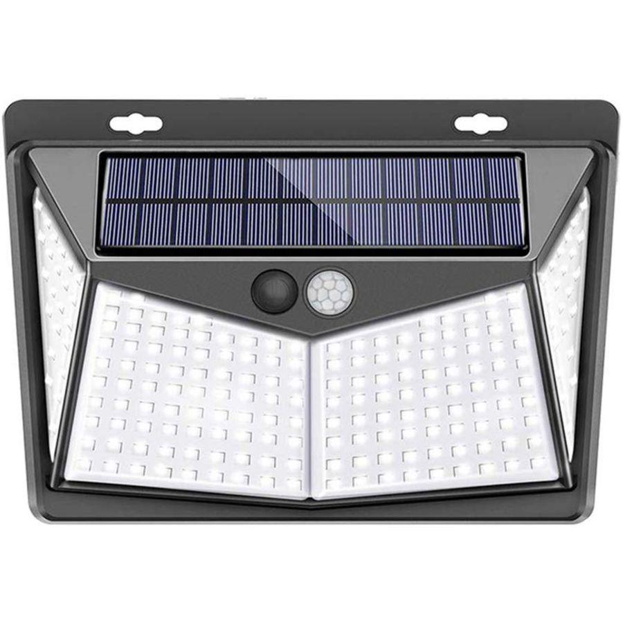 Solar Motion Sensor Led Stair Wall Outdoor Lights Led Garden Lamp, Outdoor Led Solar Wall Lights For Garden