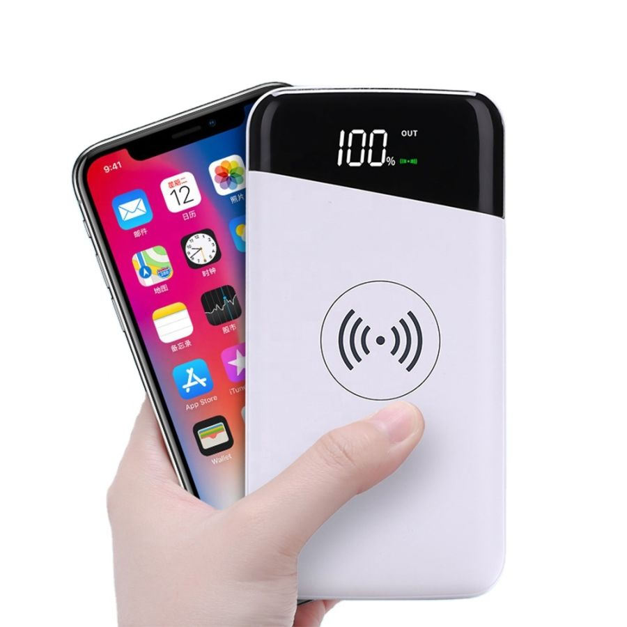 Wireless Portable 20000mah Power Bank Charger External Battery for all mobile phone Tablet