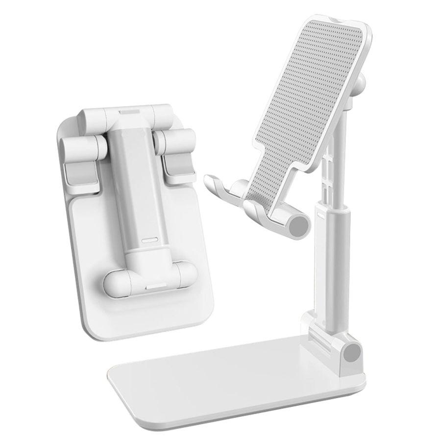 2021 Universal folding desktop smart Mobile phone holder foldable adjustable stand Tablet Desk Bracket