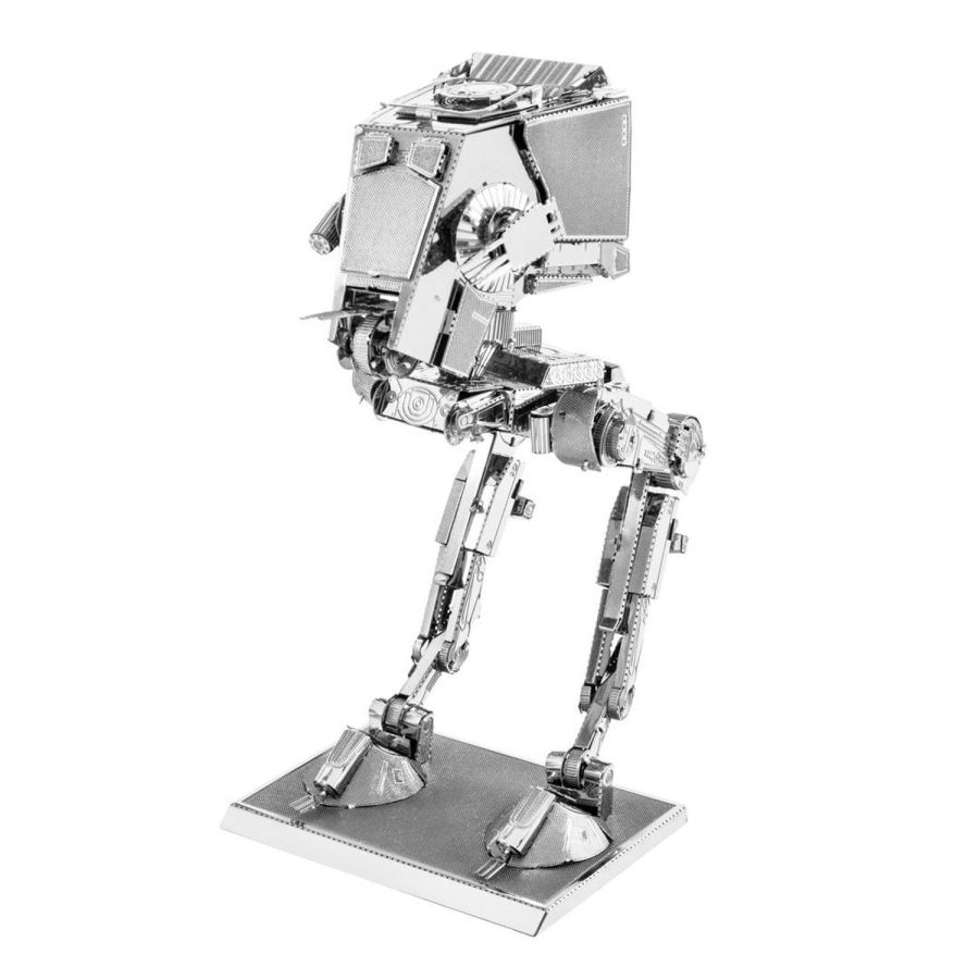 Star Wars AT ST AT-ST Scout Metal Earth Model 3D Puzzle Kit Mens Gadget Gift Nano